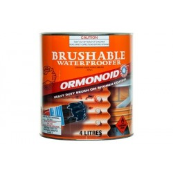 Ormonoid - Bitumen Paint Brushable 4Ltr