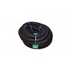65mm Flexible Agi Pipe - Slotted, No Filter Sock (20m Roll)