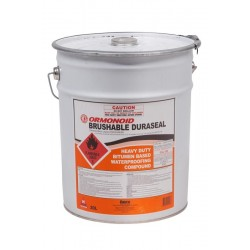 Ormonoid - Bitumen Paint Brushable 20Ltr