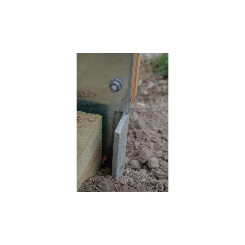 Fence Post Bracket Sleepersdirect