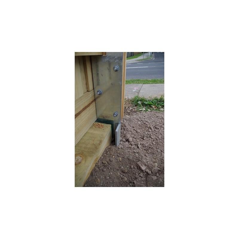 Fence Post Bracket Sleepersdirect