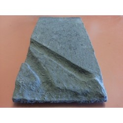 Shatter Post Cover Charcoal - H Beam 200x100x20