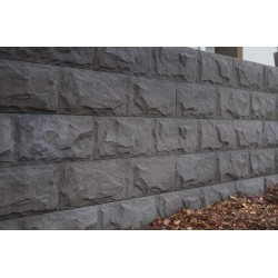 Split Bluestone Concrete Sleepers - Charcoal 2.020m 150x80mm