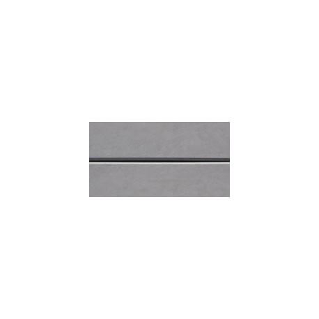 Smooth Plain Grey 2.0m 200x80mm