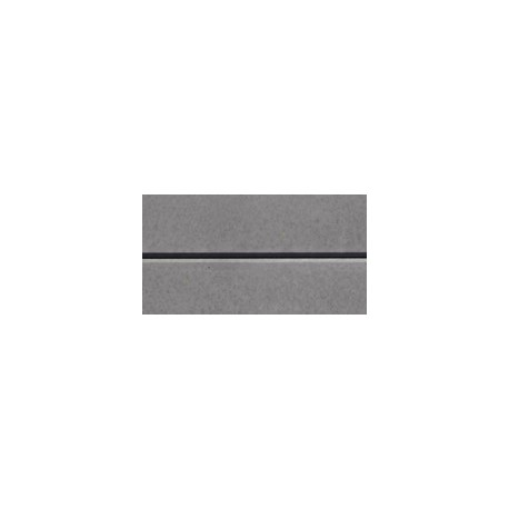 Smooth Plain - Charcoal 2.4m 200x100mm