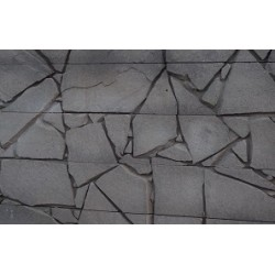 Shatter Stone - Charcoal 1.845m 200x85mm