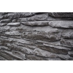 Brabant Rustic Stone Sleeper - Charcoal 2.0M 200x80mm