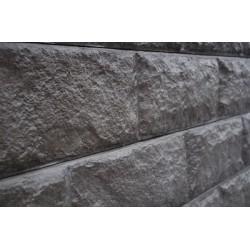 2.0m 200x80mm Split Stone - Charcoal