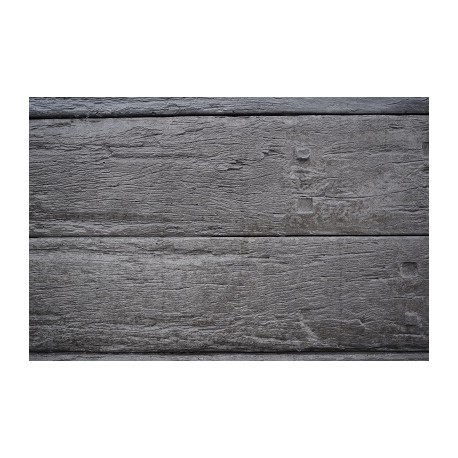 Used Railway Woodgrain - Charcoal 2.0m 200x80mm
