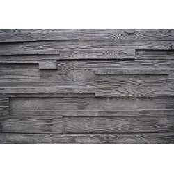 Architectural Woodgrain Sleepers - Charcoal 2.0m 200x80mm