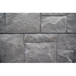 Ashlar Stone Face Sleeper - Charcoal 2.0m 200x80mm