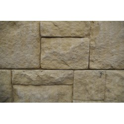 Ashlar Stone Face Sleeper - Sandstone 2.0m 200x80mm