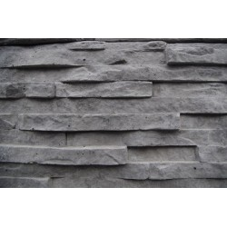 2.0m 200x80mm Stack Stone - Charcoal