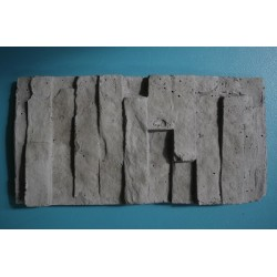 Stack Stone (H Beam) Covers - Charcoal 200x100mm