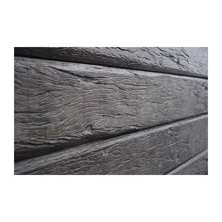 2.0m 200x80mm Timber Grain - Charcoal