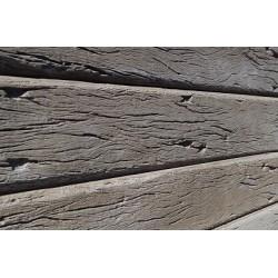 Rustic Woodgrain Sleeper - Brown 200x80mm